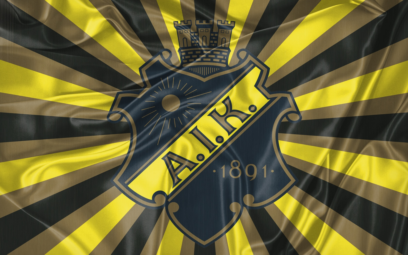AIK Football flag